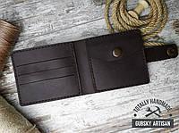 """Кошелек мужской портмоне c монетницей  """"Boss slim"""" 100% handmade, фото 1"""