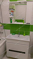 """Мини-комплект мебели для ванной Аквазис """"Ява 80 Z2 П Комо"""". Мы Производитель."""