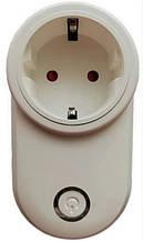 Смарт розетка с Wi-Fi управлением socket SA-014 10A 6996 white