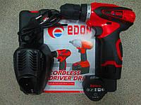 Аккумуляторный шуруповерт EDON CF-1202
