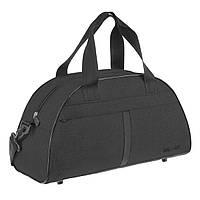 Дорожно-спортивная сумка Wallaby малая 44х28х20 ткань полиэстер черный цвет в 213ч