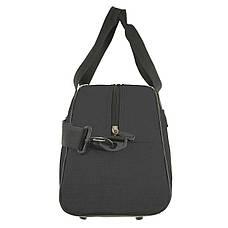 Дорожно-спортивная сумка Wallaby малая 44х28х20 ткань полиэстер черный цвет в 213ч, фото 2