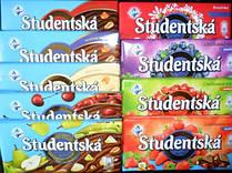 Шоколад Studentska Pecet в ассортименте 180 г Чехия