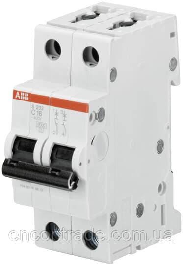 2CDS252001R0044 Автоматичний вимикач ABB S202-C4