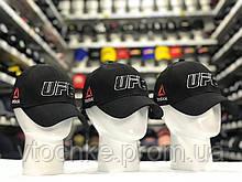 Кепка бейсболка чоловіча UFC ззаду закрита