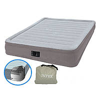 Двуспальная кровать 67768 надувная Двуспальная надувная матрас-кровать 191-137-33 см вст эл насос 220В 11/40.7