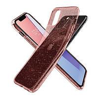 Накладка для iPhone 11 Pro Max Spigen Liquid Crystal Glitter Rose Quartz
