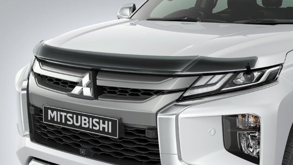 Дефлектор капота ( мухобойка ) Mitsubishi L200 2019+