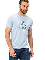 Голубая мужская футболка LC Waikiki / ЛС Вайкики Pacific Coast