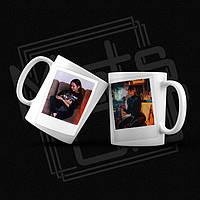 Печать фото Полароид на чашке / Печать фото на чашке / Polaroid