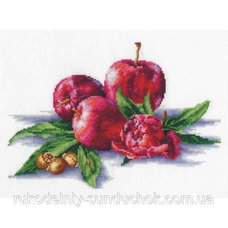Набір для вишивки хрестом Зроби Своїми Руками Яблука й горішки Я-03