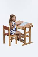 """Стол парта мольберт универсальный  деревянный  для детей от 2-х до 7-ми лет """"Смарт"""""""