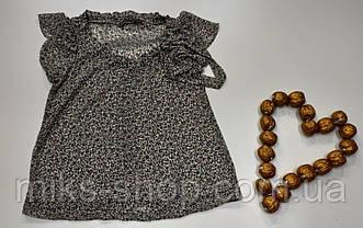 Стильная шифоновая блузка бренда Zara Basic Размер 38, фото 2