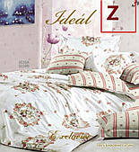 Постельное белье Идеал (Ideal) Сатин Дизайн Z Размер Евро