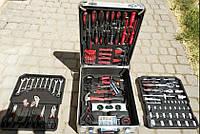 Чемодан инструментов, ключей AL-FA 186 шт