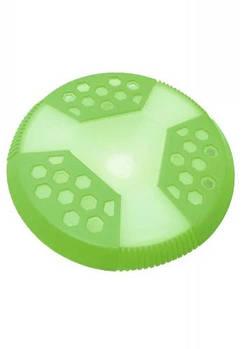 Игрушка для собак CROCI, серия GLOW, Фрисби, люминесцентная, высокопрочная резина