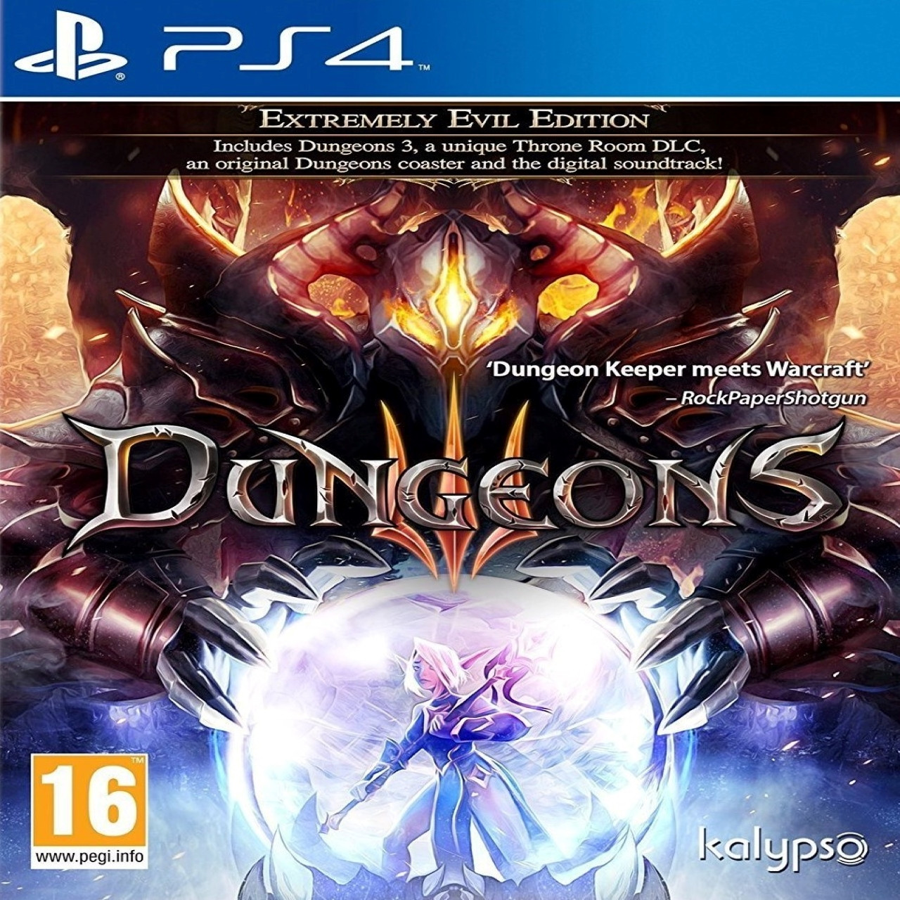 Dungeons 3 ENG PS4