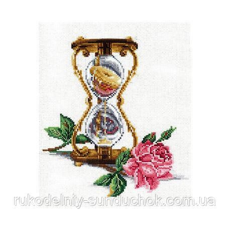 Набор для вышивки крестом Сделай Своими Руками Песочные часы П-37