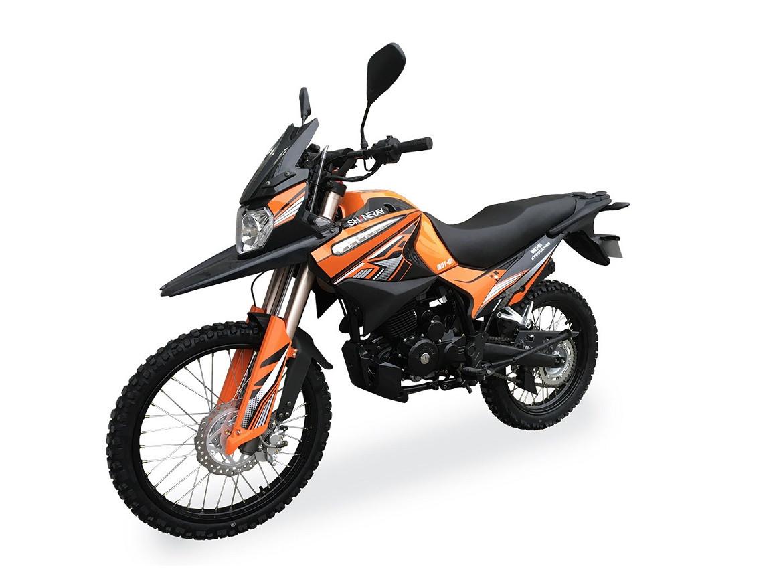 Мотоцикл Shineray XY 250GY-6B Enduro Оранжевый