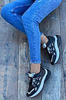 Кроссовки женские 8 пар в ящике черного цвета 36-41, фото 3