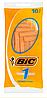 Набор одноразовых бритвенных станков Bic 1 Sensitive. В упаковке 10 шт. Оригинал