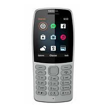 Мобильный телефон NOKIA 210 Dual SIM Grey (TA-1139), фото 2