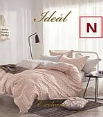 Постельное белье Идеал (Ideal) Сатин Дизайн N Размер Евро