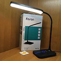 Настільний світильник Feron DE1732 (Чорний), фото 1