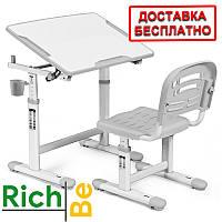 Комплект парта и стулья Evo-kids Evo-07