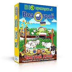 Водограй Чистый Хлев 200 г биопрепарат для подстилки свиней и кур