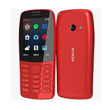 Мобильный телефон NOKIA 210 Dual SIM Red (TA-1139), фото 3