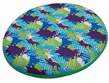 Грушка для собак CROCI, серия SUMMER SPOTS, Фрисби, высокопрочная резина, d-22см