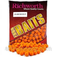 "Бойлы Richworth Euro Baits ""PLUM ROYALE"" (королевская слива) диаметр 15 мм"