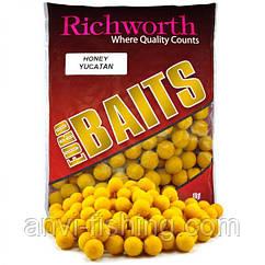 "Бойлы Richworth Euro Baits ""HONEY YUCATAN"" (мёд) диаметр 15 мм"