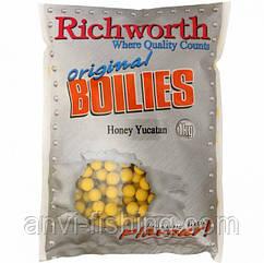 """Бойлы Richworth Original Boilies """"Honey Yucatan"""" (Мёд) диаметр 15 мм - 400 гр"""
