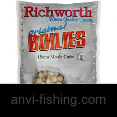 "Бойлы Richworth Original Boilies ""Moule Crabe"" (Краб) диаметр 15 мм - 1 кг"