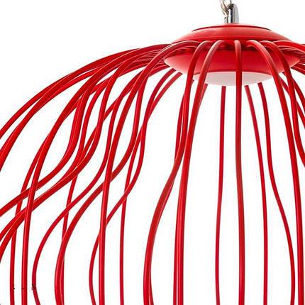 Люстра красная Клетка SLAVIA OU151/BR, фото 2