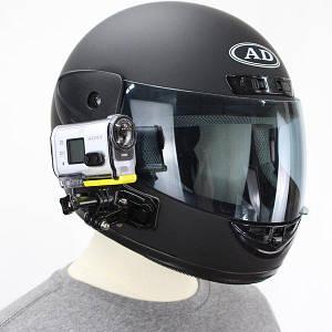 Боковое крепление на шлем Flife поворотное для экшн-камер GoPro, SJCAM, Xiaomi, Sony