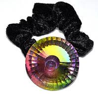 Резинка велюровая с камнем (от 4 шт), фото 1