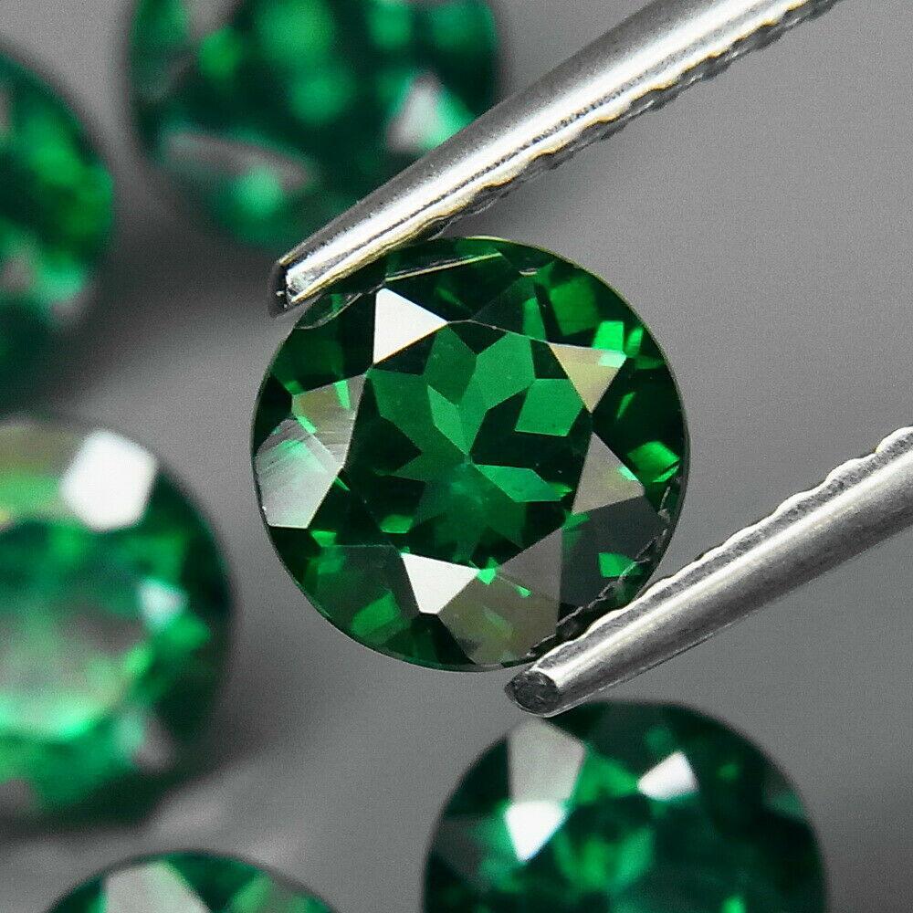 Натуральний топаз зелений 6 мм