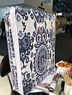 Плед хлопковый с бахромой евро размер Sarar Battaniye 200x240см Турция, фото 2