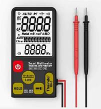 Мультиметр цифровой smart тестер 33D Z 7044 black