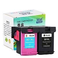 Сменный струйный картридж TIANSE 1 для ПК 301XL Чернила для принтера HP 301 HP301 XL для HP Deskjet 1050 2050 2050s 2510 2540 3050 Envy 4500 4502