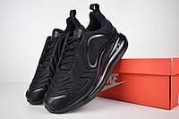 Мужские кроссовки Nike Air Max 720, черные. Код товара: ОД - 1616