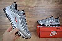 Мужские кроссовки Nike Air Max 97, серебро. Код товара: ОД - 1624