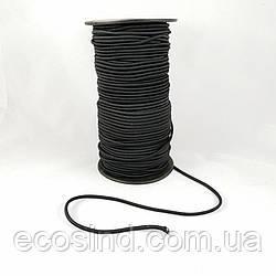 Резинка круглая (шляпная) 2 мм. Черная 100 м. (СТРОНГ-0468)