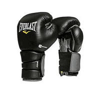 Боксерские перчатки Everlast (Еверласт) Protex3 Hook & Loop Training Boxing Gloves. 12oz