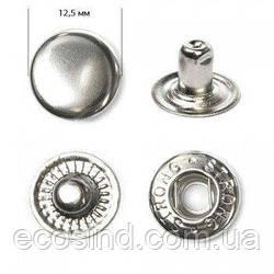 Кнопка №54 12,5мм Никель 720шт. (СТРОНГ-0210)