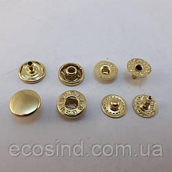 Кнопка VT-2 10мм Золото 720шт (СТРОНГ-0197)