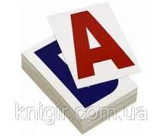 Літери  УКР Карточки 40 шт